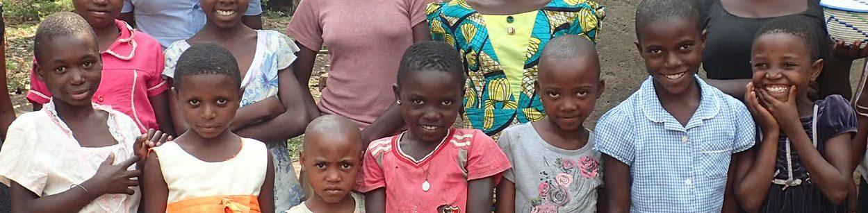 Girl students in Kyarumba