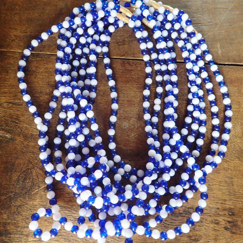 Necklaces made by Kyarumba women