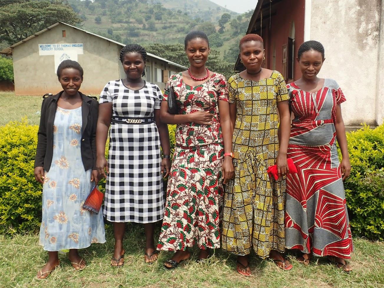 Women from the vocational skills program